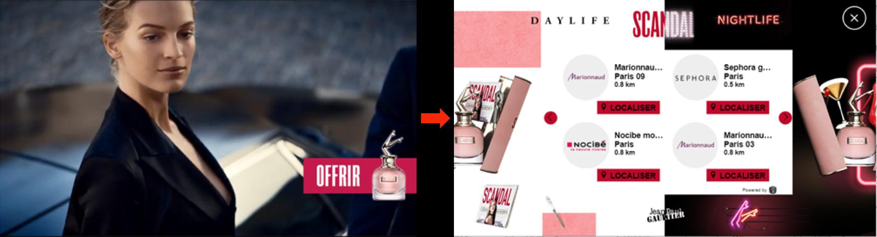 Jean Paul Gaultier shoppable video