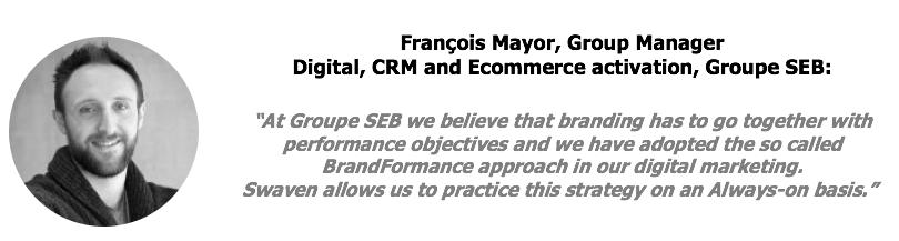 François Mayor, Groupe Seb