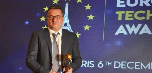 Laurent Quatrefages at The European Technology Awards