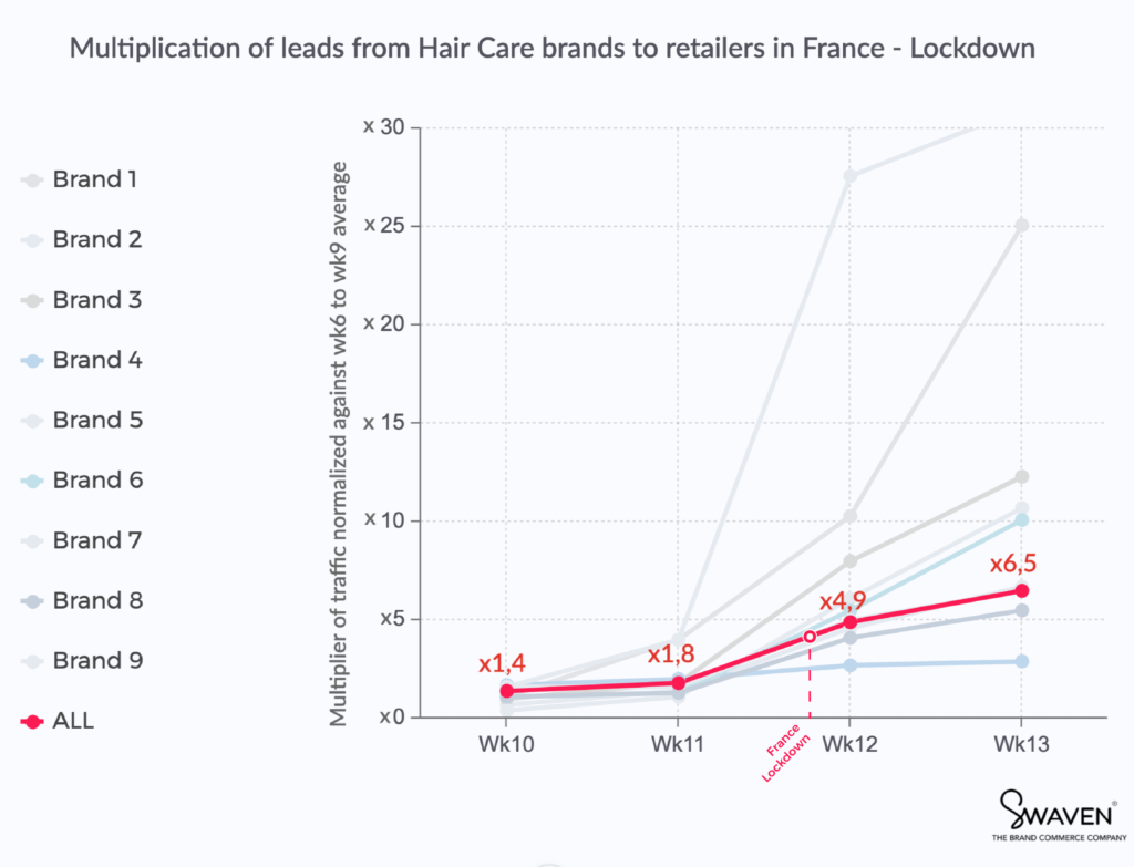Graphic - Hair care in France